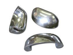 Aluminium Die-Cast Components - Polished Furniture Fittings