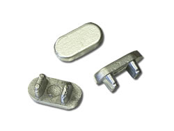 Aluminium Die-Cast Components - Tube Caps