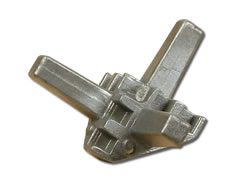 Aluminium Die-Cast Components - Deli Counter Corner Fixing