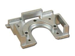 Aluminium Die-Cast Components - Portable Shelving Bracket