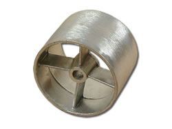 Aluminium Die-Cast Components - Pulley Wheel