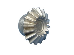Aluminium Die-Cast Components - White Metal Spun Cast Cog
