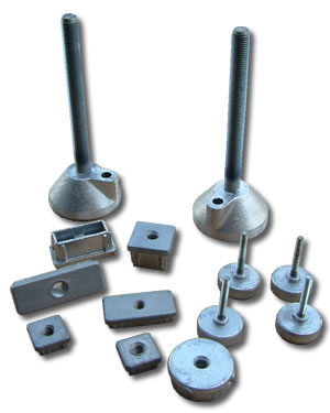 Cast Aluminium Adjustable Feet