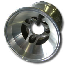 Aluminium Cast Kart Wheel